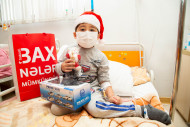 "Bakcell and ""ASAN Letter"" organized a New Year celebration for children suffering from leukemia"