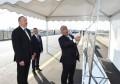 Pirşağı-Novxanı və Binəqədi-Novxanı-Corat yollarının açılışı - FOTOLAR