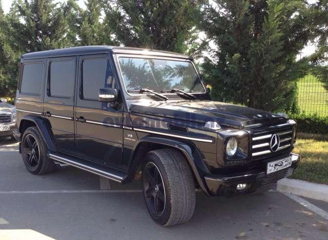Mercedes Benz G 55 Amg Second Hand 2010 120000 Gasoline