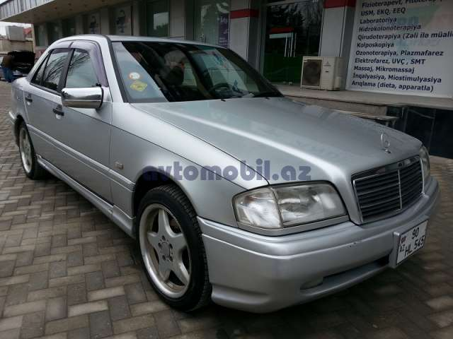 Mercedes benz c36 amg second hand 1996 8900 gasoline for Second hand mercedes benz