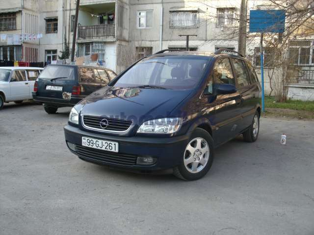 opel zafira second hand 2001 9500 gasoline transmission automatic 175300 baku ramil. Black Bedroom Furniture Sets. Home Design Ideas