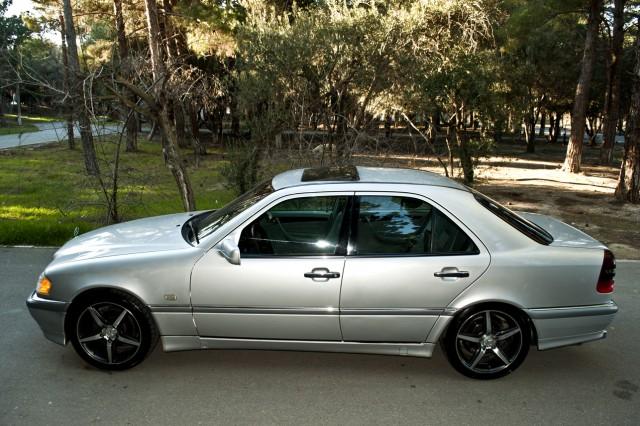 Mercedes benz c 200 second hand 1998 11900 gasoline for Mercedes benz second