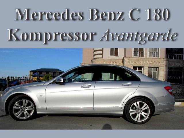 Mercedes benz c 180 second hand 2009 29500 gasoline for Second hand mercedes benz