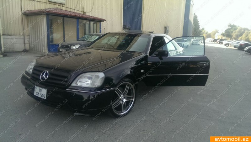 mercedes cl 500 1995