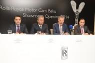 ROLLS-ROYCE OPENS FIRST SHOWROOM IN AZERBAIJAN