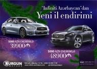 INFINITI  Azərbaycandan yeni ilə özəl təkliflər