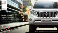 Особый подарок к празднику Новруз от Toyota Land Cruiser Prado