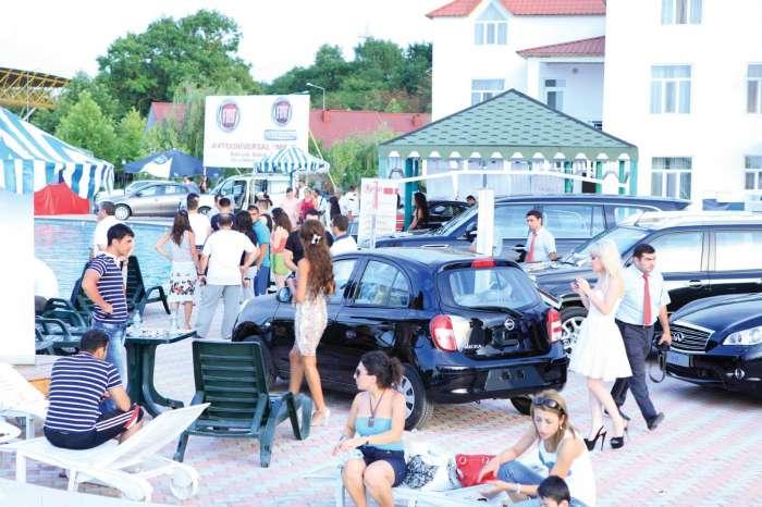 VIII Caspian Motor-Show avtomobil sərgisi