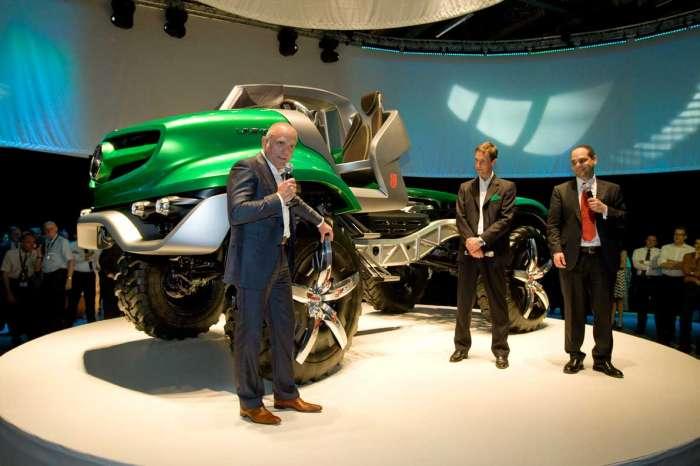 Mercedes-Benz Unimog-un 60 illiyini qeyd etdi