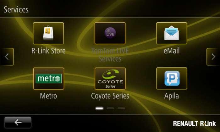 R Link Renault-dan yeni multimedia planşeti