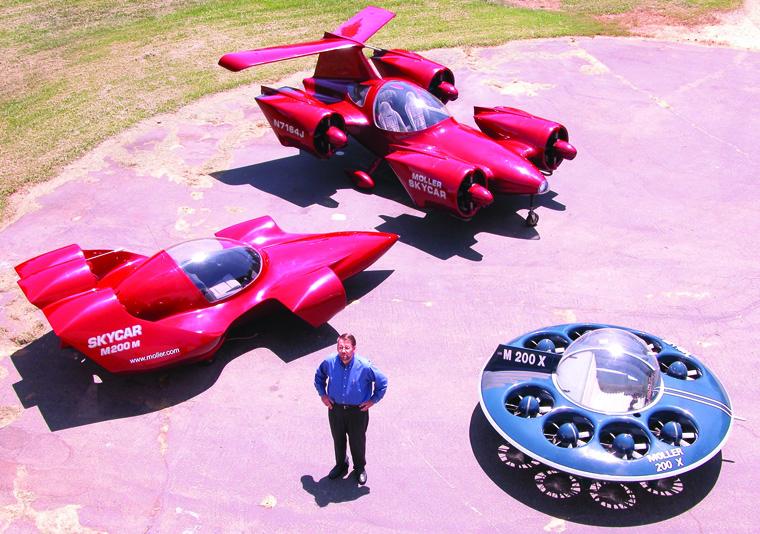 Uçan avtomobillərin ən qeyri-adiləri: uçan modellərin və konseptlərin top-onluğu