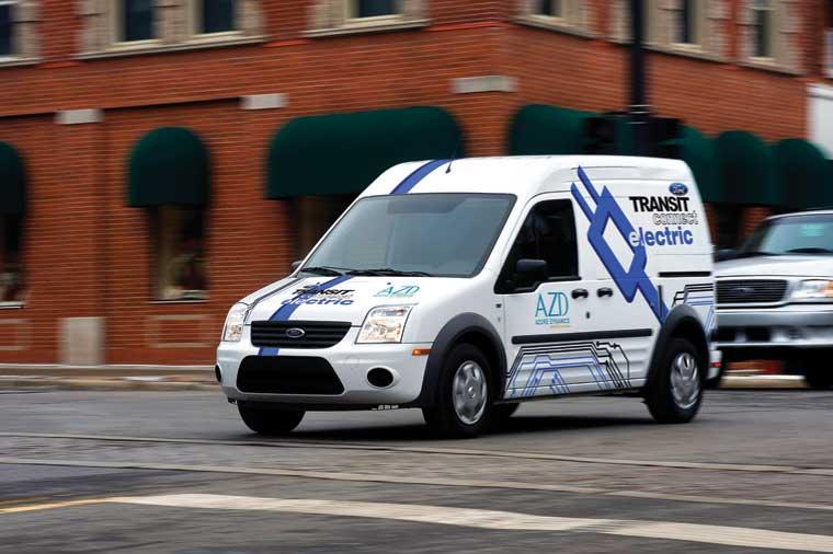 Ford Transit Connect Electric Van & Taxi CNG/LPG: uğurun möhkəmləndirilməsi
