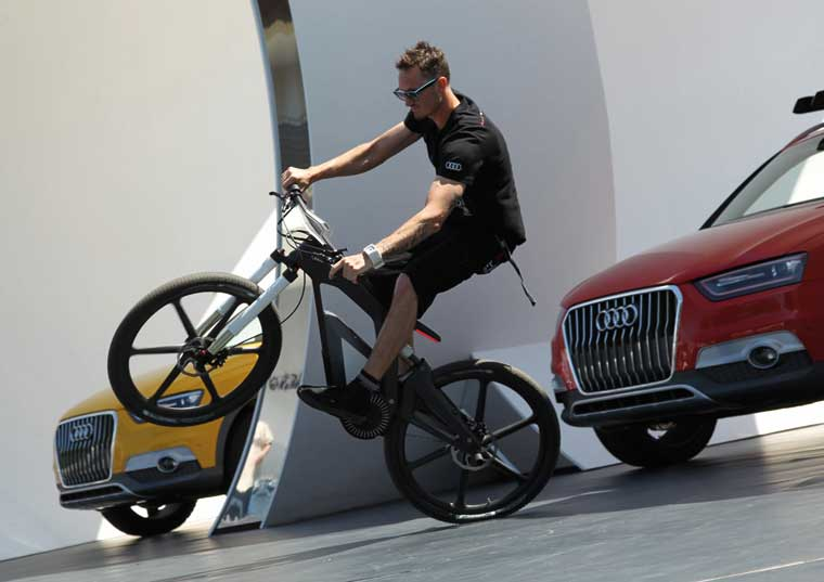 Elektrik velosipedi Audi e-bike Wörthersee