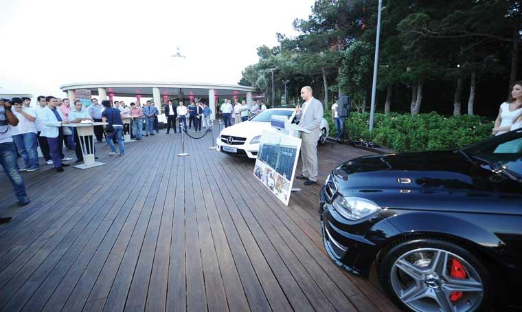Ölkəmizdə möhtəşəm Mercedes-Benz CLS63 AMG və C63 AMG modellərinin təqdimatı keçirildi