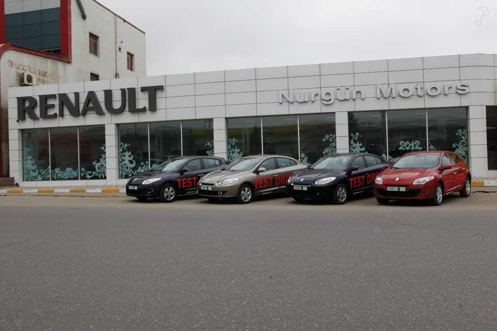 Renault-un yeni modelləri Azərbaycan yollarında sınaqdan keçirildi