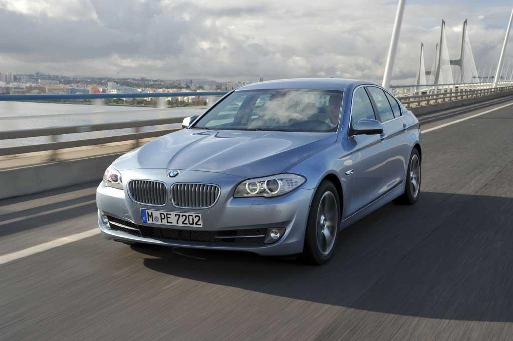 BMW 535i-nin bazasında hazırlanmış BMW ActiveHybrid 5