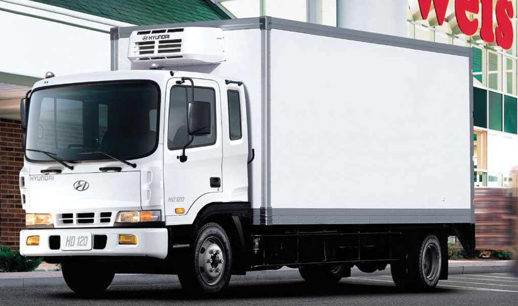 Orta tonnajlı yük avtomobili Hyundai HD-120