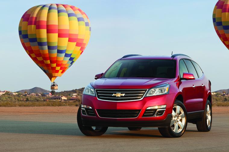 Chevrolet Traverse 2013: effektiv krossover