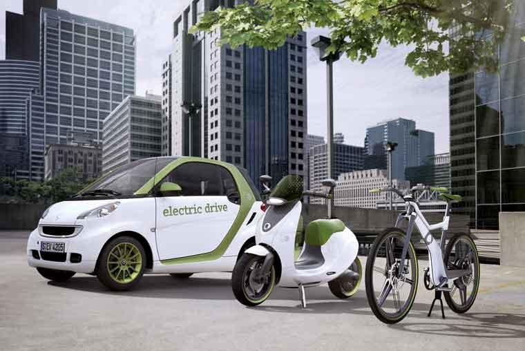 Smart elektrik velosipedi artıq Avropadadır