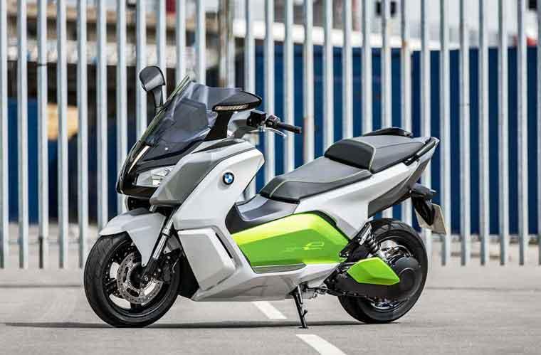 BMW-dən yeni elektrik skuteri: BMW C evolution