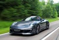 Porsche 911 Carrera S: Gemballa tərəfindən tüninq olunmuş avtomobil