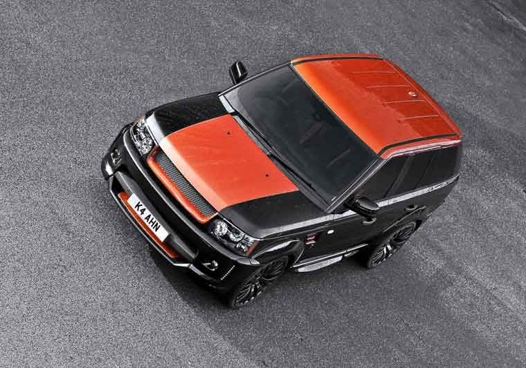 Kahn Range Rover Sport RS300 Vesuvius Edition