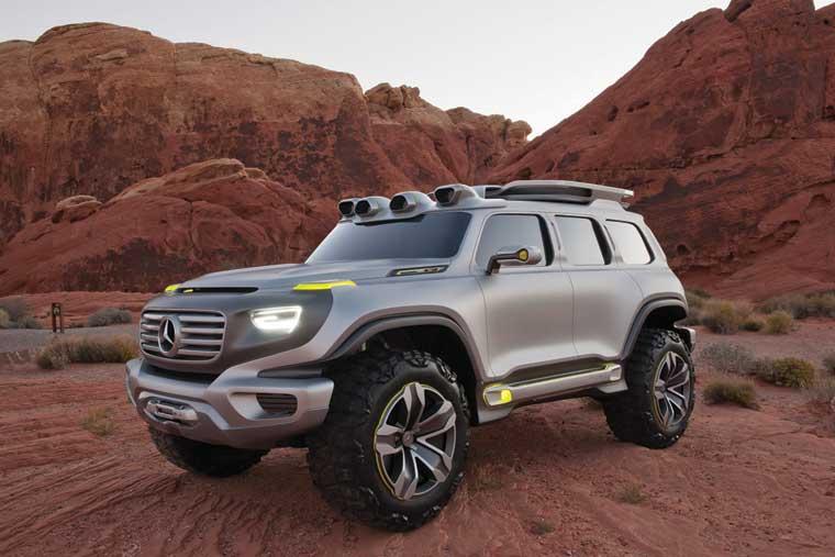 Mercedes Ener-G-Force Concept: gələcək Gelandewagen-in prototipi