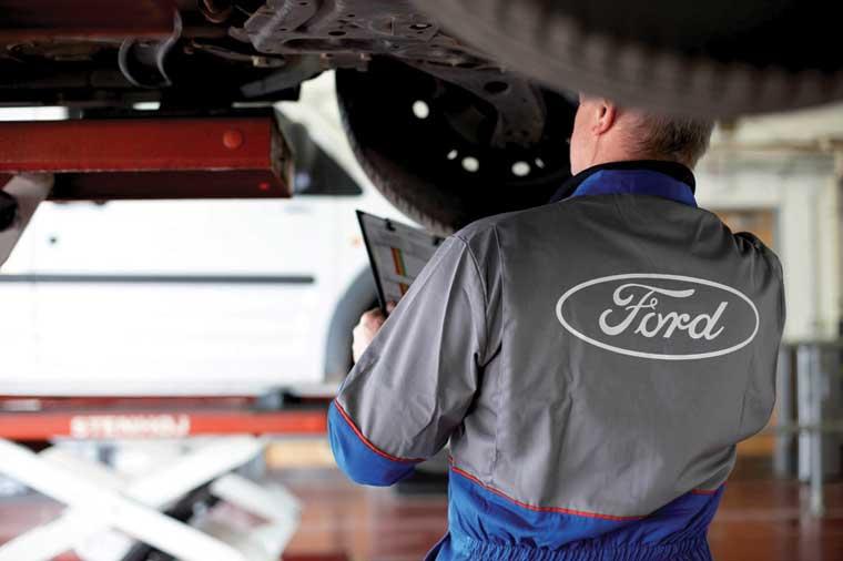 Ford servisdə qışa hazırlıq