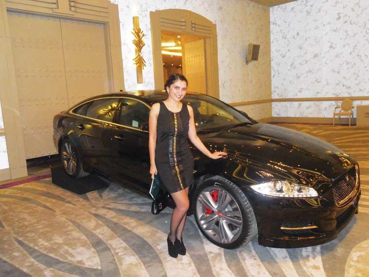 Jaguar- ilin avtomobil brendi