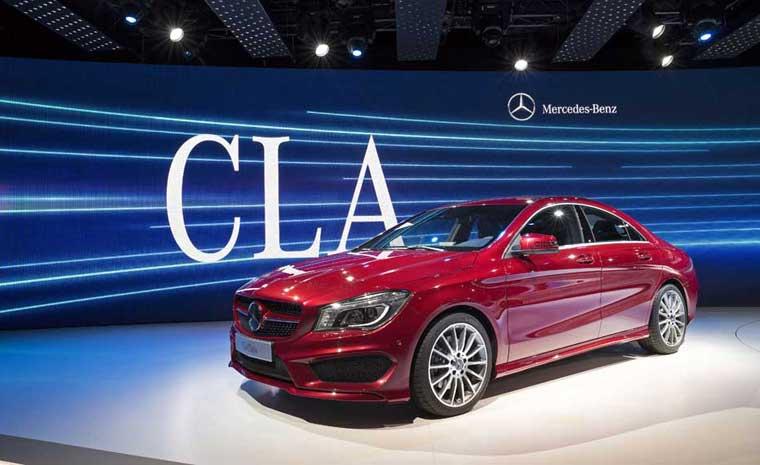 Mercedes-Benz CLA 2014: yeni dördqapılı kupe