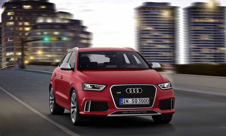 Audi RS Q3 2014 -  Audi-dən yeni krossover: