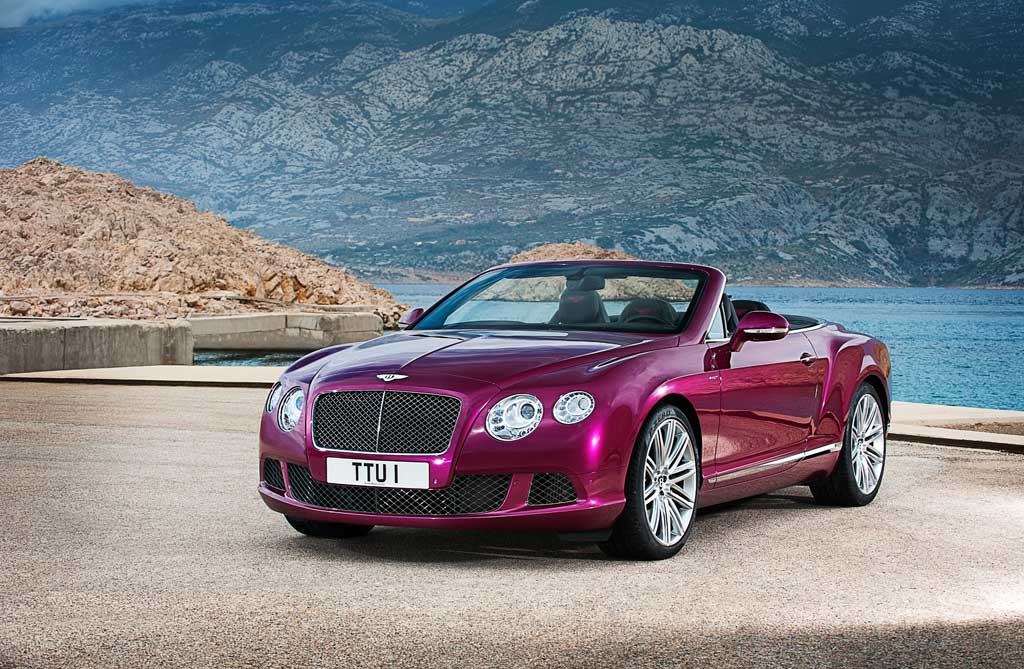 Bentley Continental GT Speed Convertible 2013 Foto