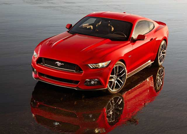 New Ford Mustang 2014 will go to Europe