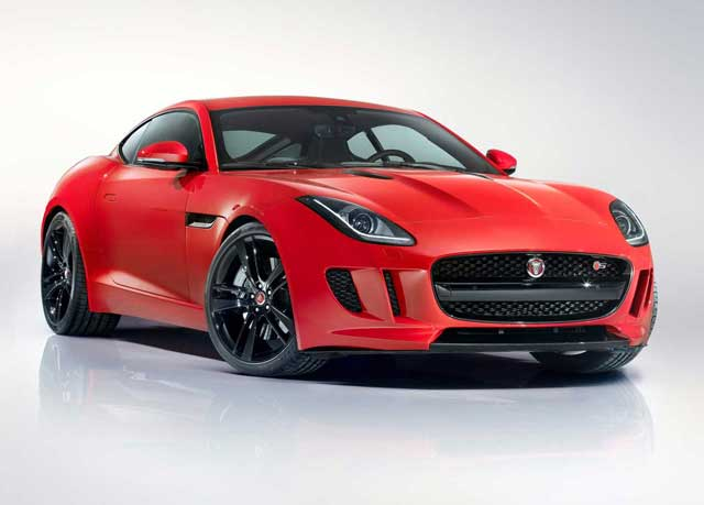 Ресталинговый Jaguar F-Type Coupe 2014