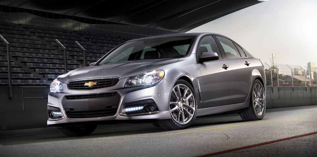 Yeni idman sedanı Chevrolet SS 2014