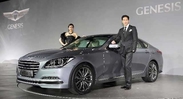Hyundai Genesis 2014: The official premiere