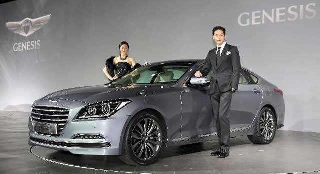 Официальная премьера Hyundai Genesis 2014
