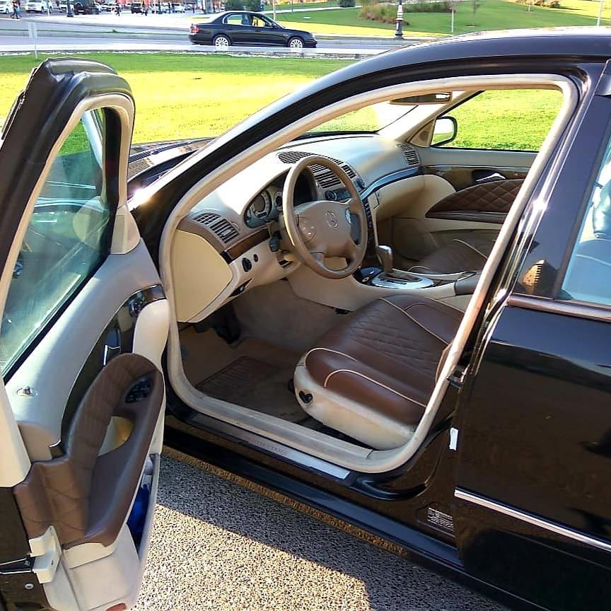 Mercedes-Benz E 240 2.6(lt) 2003 Second hand  $9000