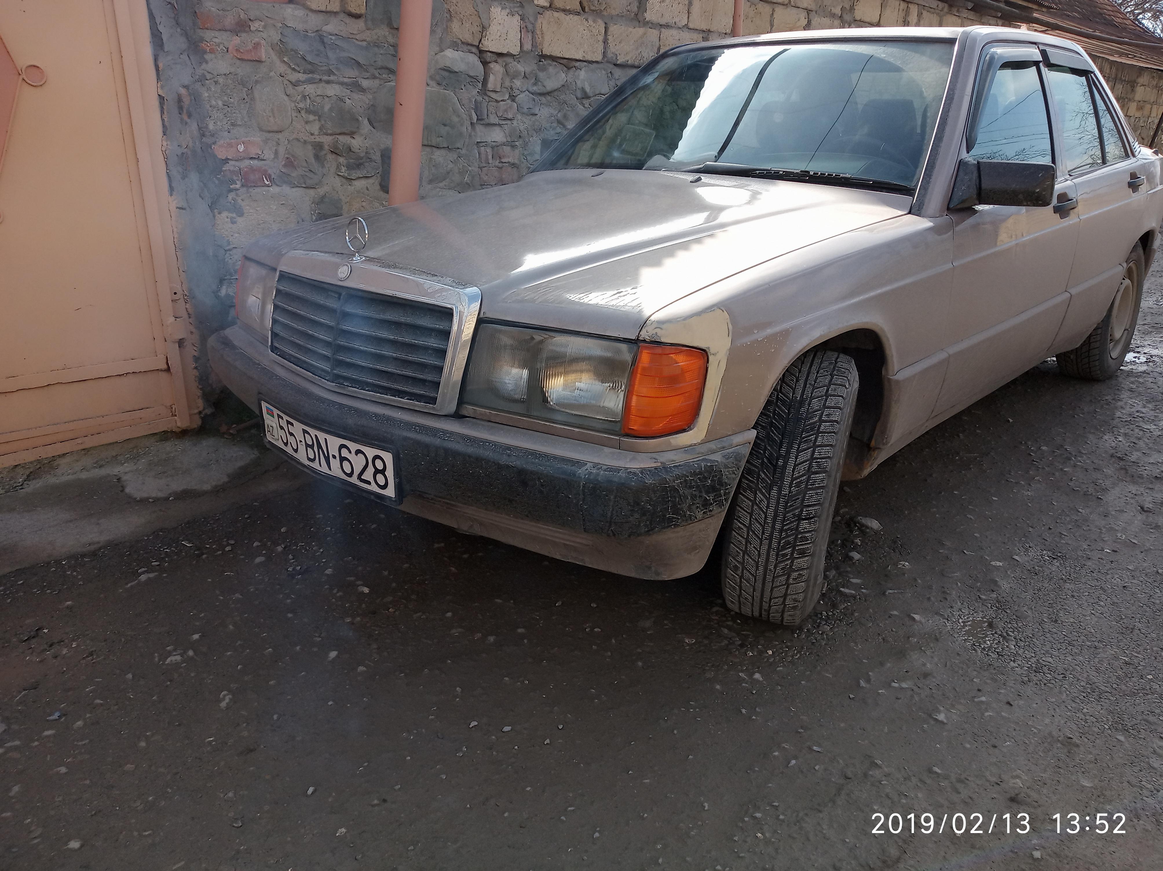 Mercedes-Benz 190 1.8(lt) 1993 İkinci əl  $5000