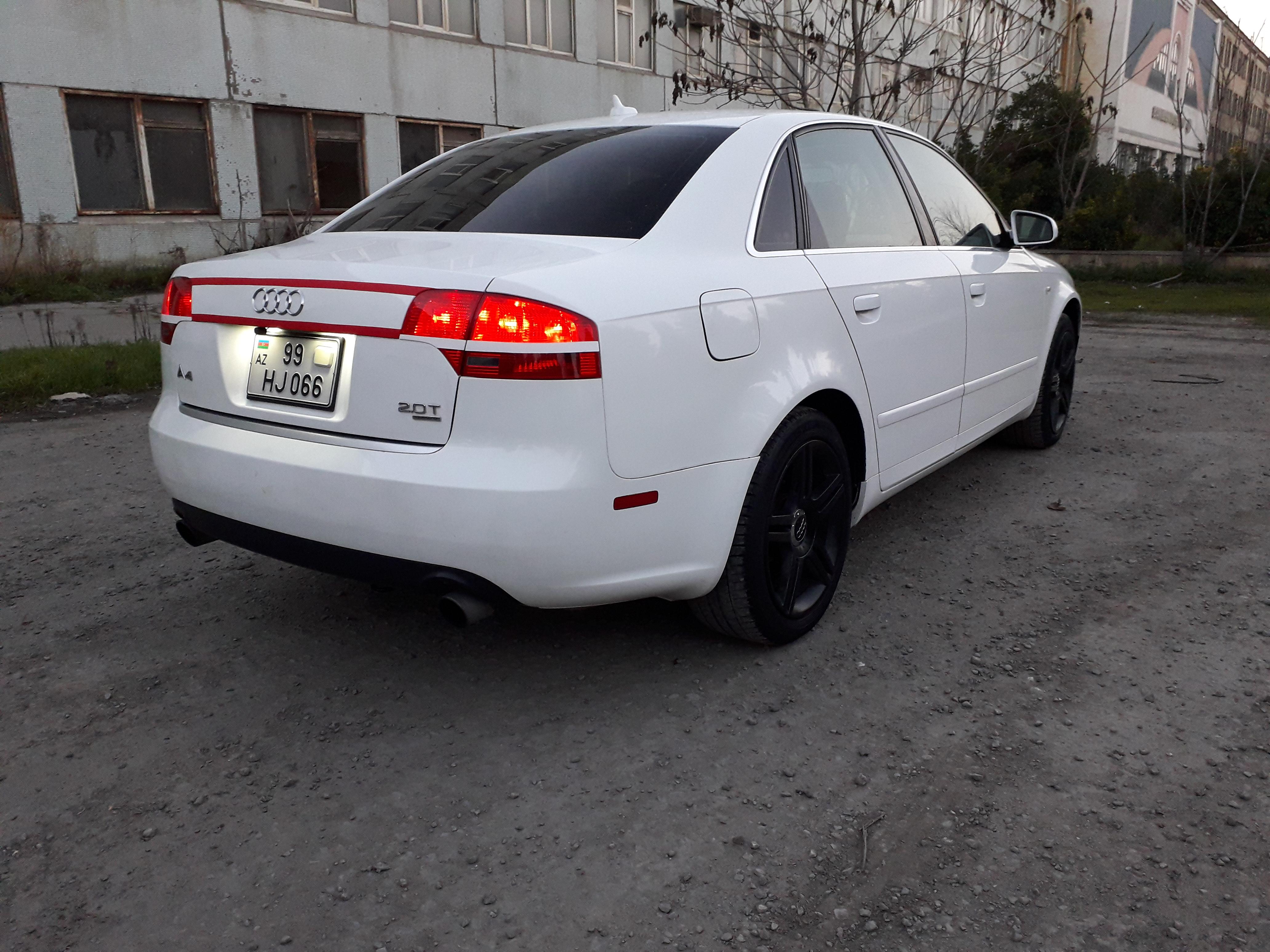 Audi A4 2.0(lt) 2007 Подержанный  $8180