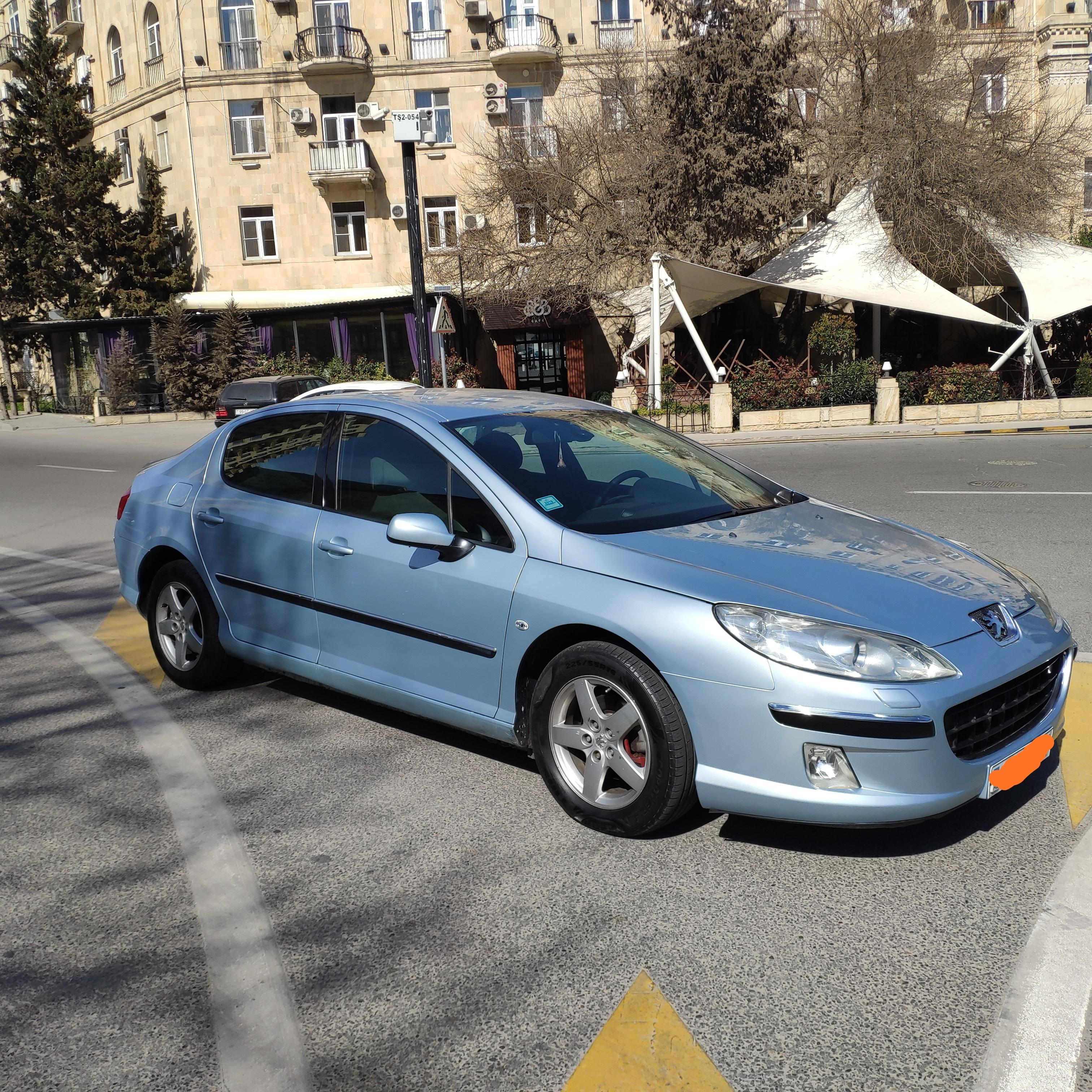 Peugeot 407 2.0(lt) 2005 Подержанный  $7000