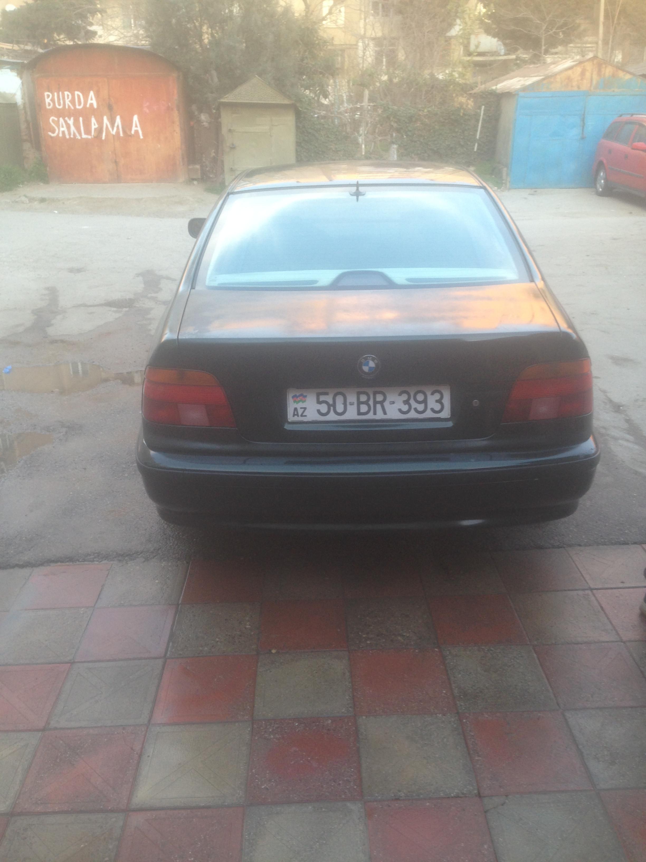 BMW 540 4.4(lt) 1998 Подержанный  $6800