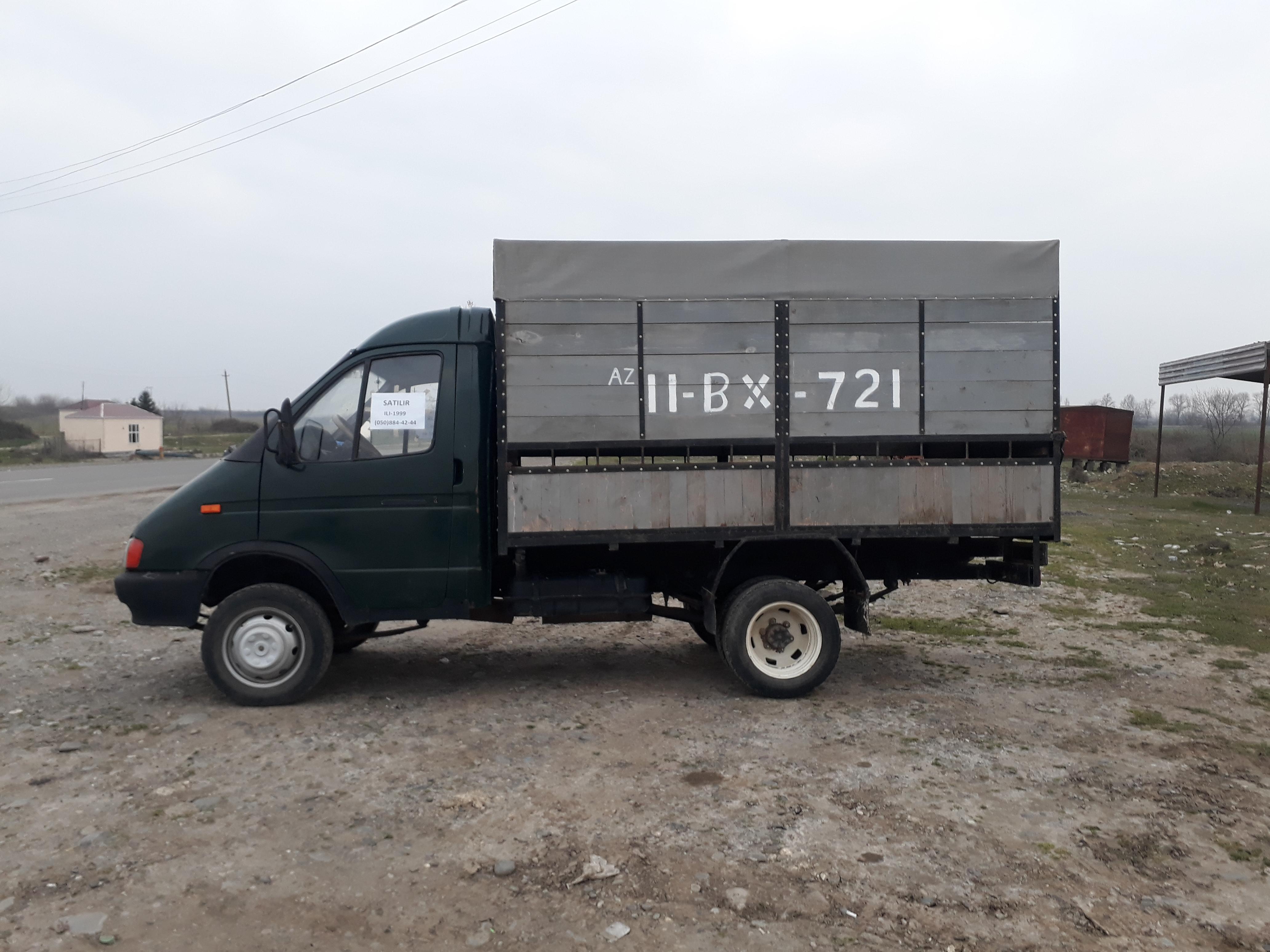 GAZ Gazel 2.6(lt) 1999 İkinci əl  $5800