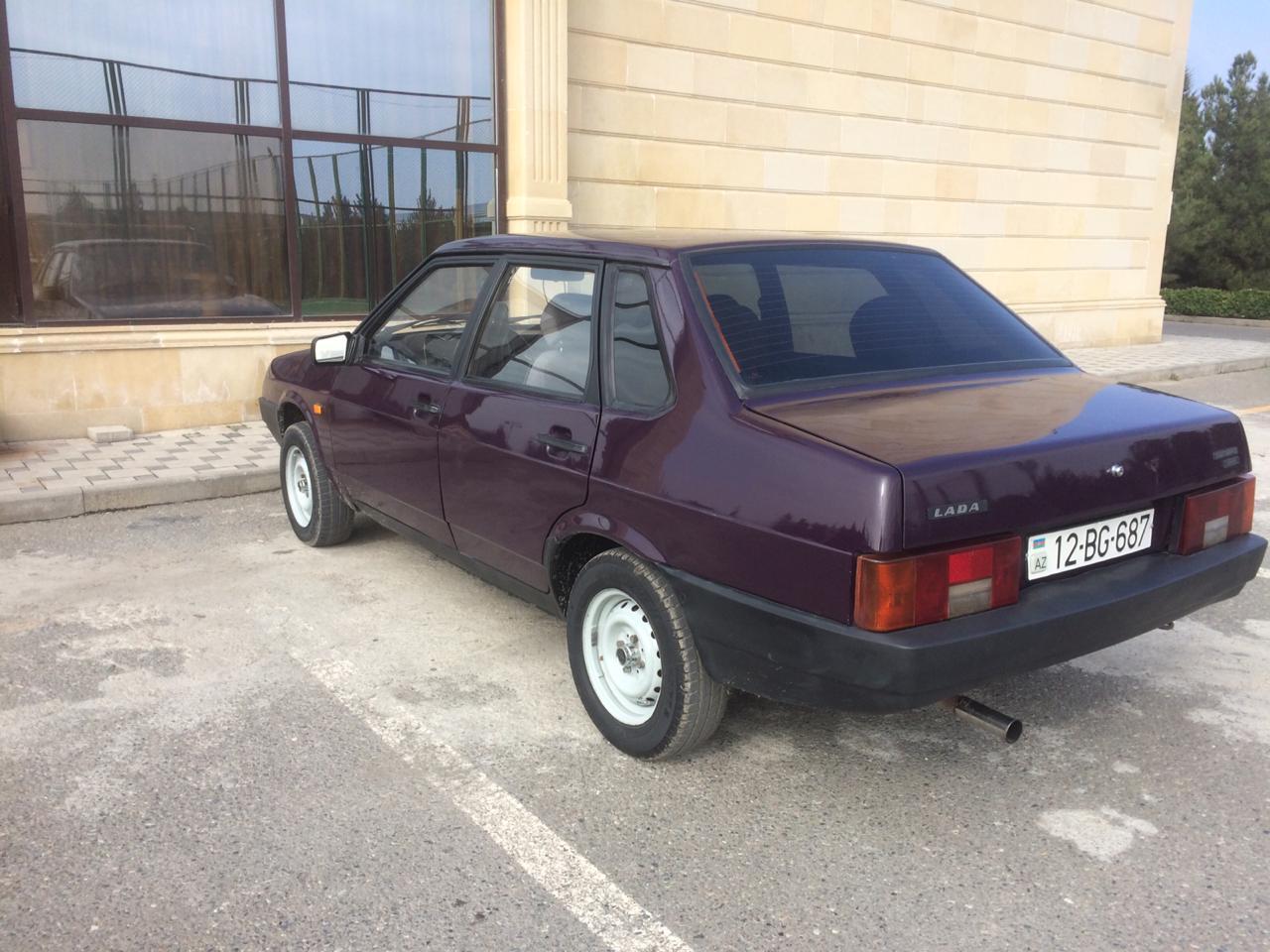 VAZ 21099 1.5(lt) 1998 Подержанный  $3950