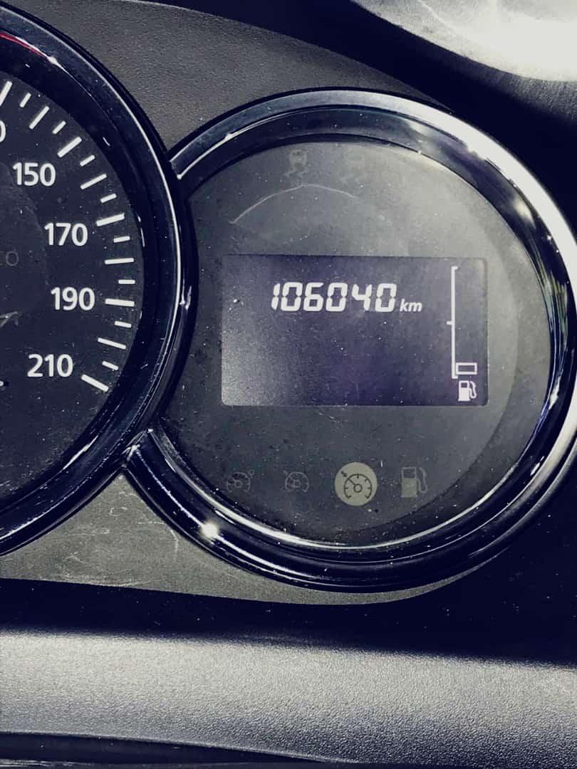 Renault Logan 1.6(lt) 2016 Подержанный  $15000