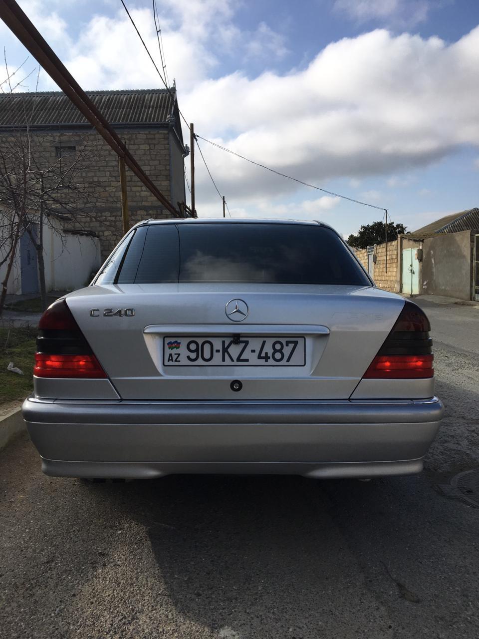 Mercedes-Benz C 240 2.4(lt) 1998 İkinci əl  $12300