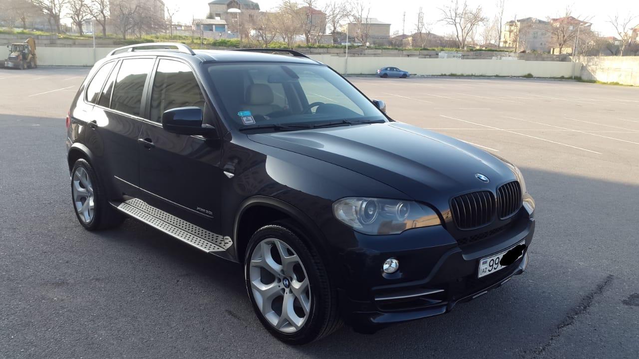 BMW X5 3.0(lt) 2009 İkinci əl  $23000