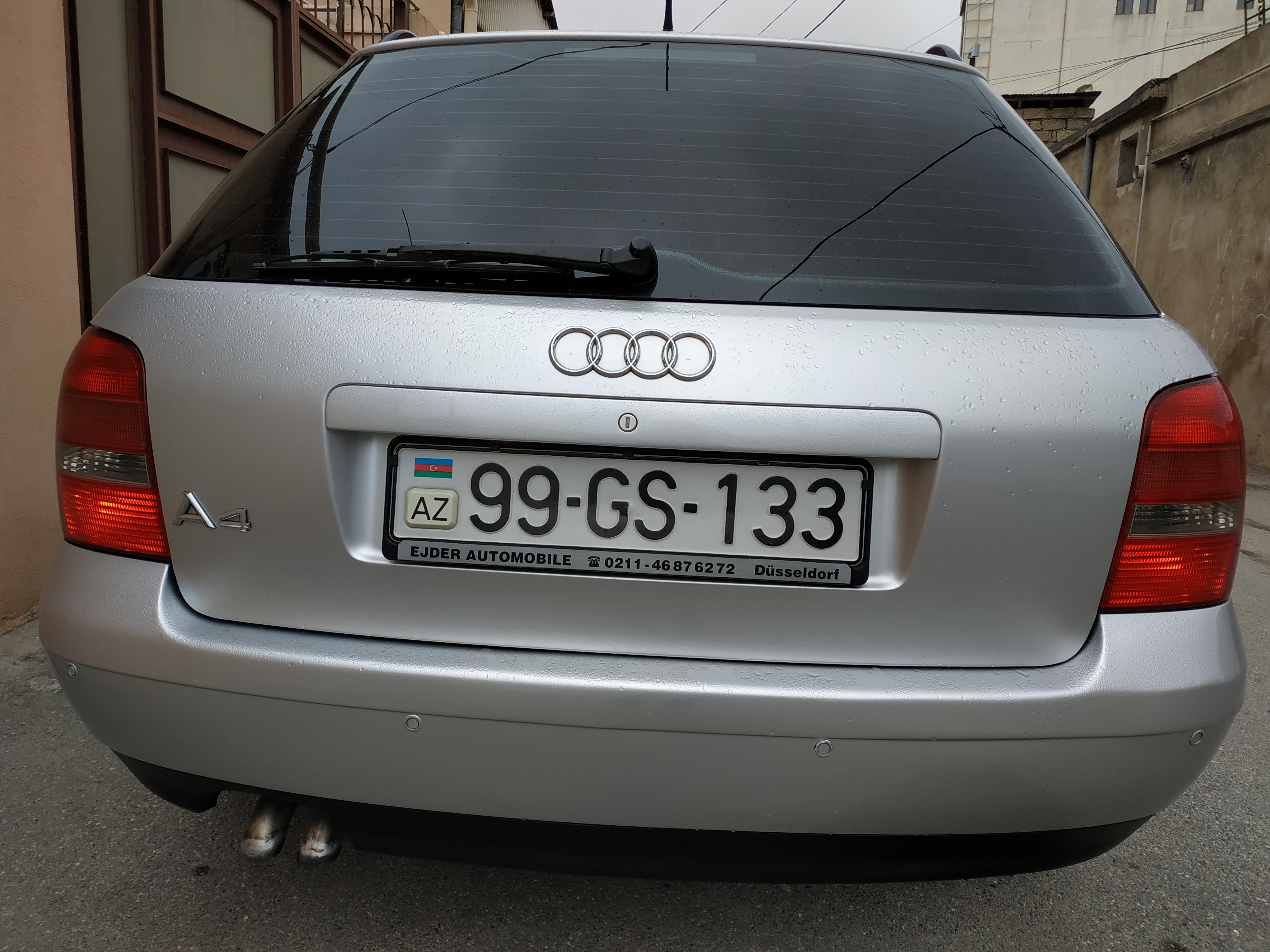 Audi A4 1.9(lt) 1999 Подержанный  $9000