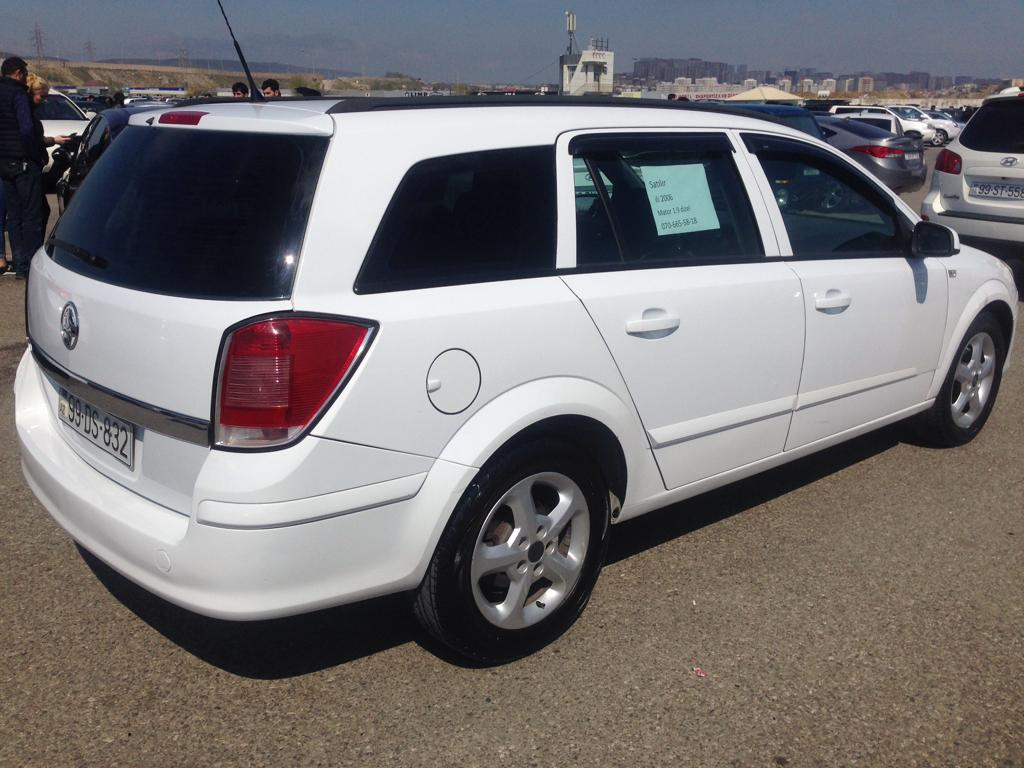 Opel Astra 1.9(lt) 2006 İkinci əl  $6300