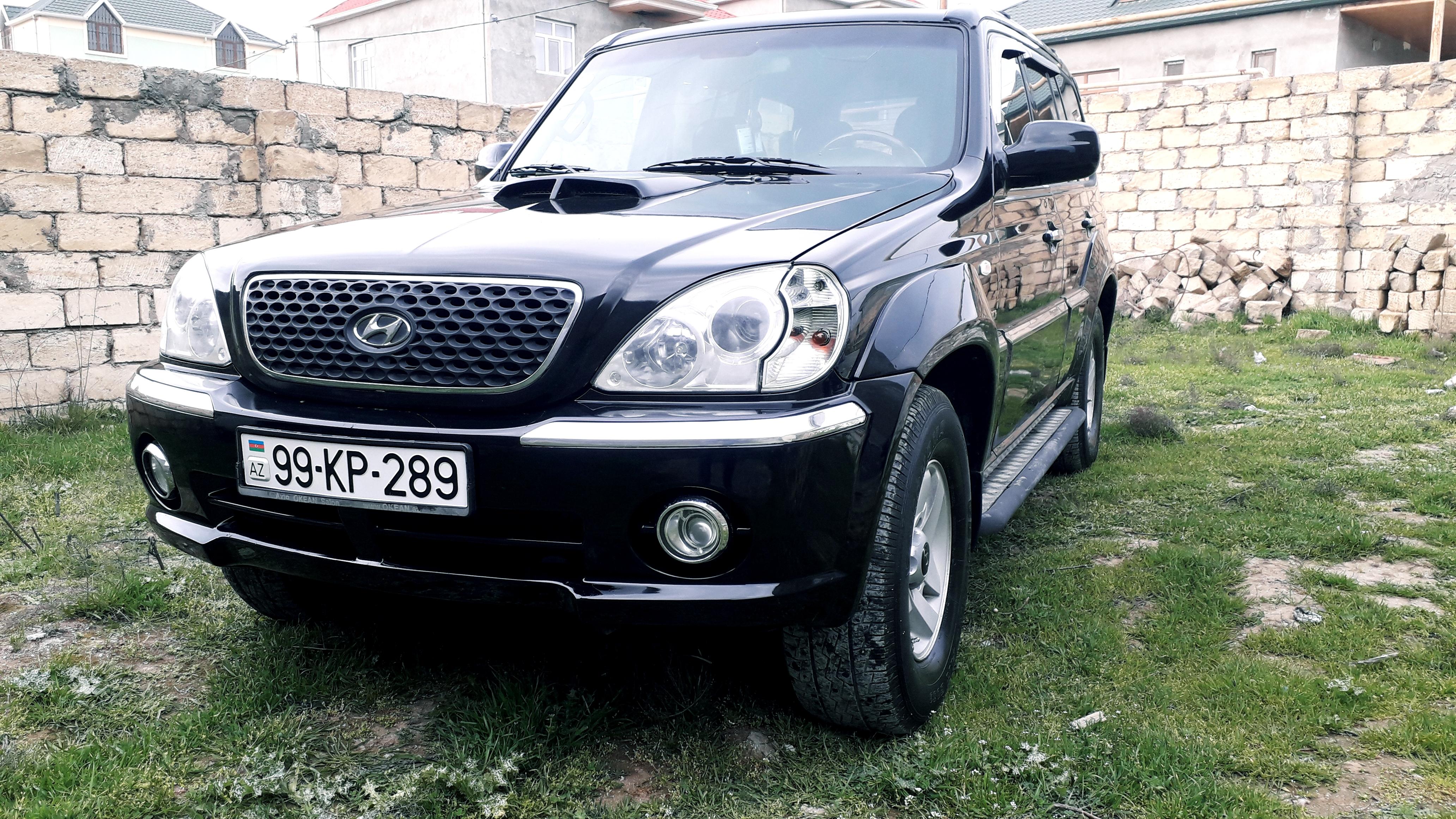 Hyundai Terracan 2.9(lt) 2001 İkinci əl  $12000